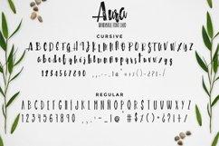 Aura handmade font duo Product Image 2