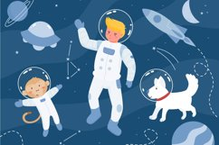 Little Orion | Cute Space Themed Font with Illustration Product Image 4