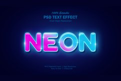 Neon Light Text Effect Product Image 1