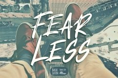 Fearless Font Product Image 1