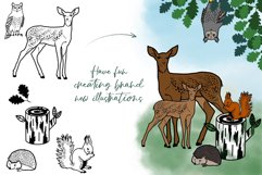 SVG EPS Bundle Forest animals silhouettes Product Image 3