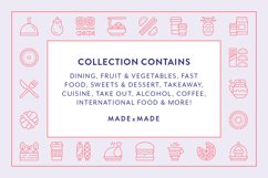 Line Icons - Food & Drink Product Image 4