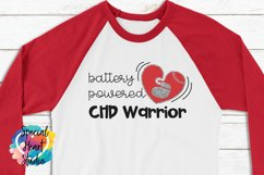 Battery Powered   Pacemaker  CHD Awareness SVG cut file Product Image 1