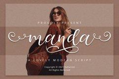 Manda - Modern Script Font Product Image 1