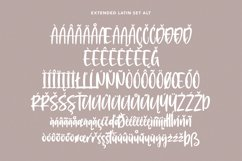 Moonsticky Handwritten Font Product Image 9