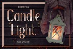 Web Font Candle Light Product Image 1