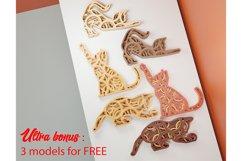 Layered Mandala CAT for decoration Product Image 5