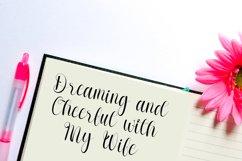 Gionalysa - Smart Calligraphy Font Product Image 4