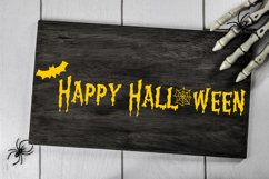 Happy Halloween Cut File - SVG & PNG Product Image 1
