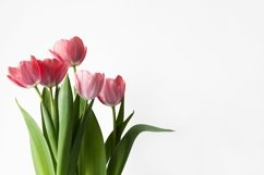 Pink tulips bouquet. Product Image 1