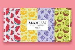 Seamless fruit pattern Product Image 1