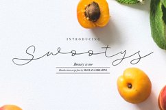 Swootys Script Font Product Image 1