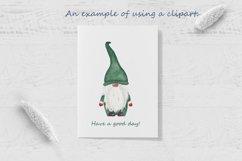 Watercolor scandinavian gnomes png Product Image 4