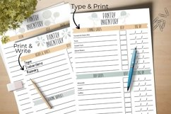 Kitchen Inventory Bundle - Editable Product Image 6