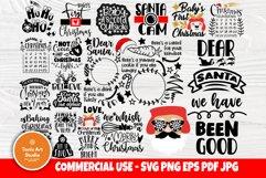 Christmas SVG Bundle, Christmas Shirt Svg, Funny Santa Claus Product Image 1