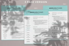 Modern Resume Template and Cover Letter. Fully editable CV Product Image 4