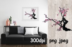 Chinese painting of plum mei Product Image 1