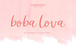 Lovely Script Font Bundle Product Image 4