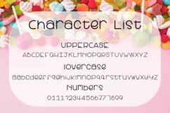Candy Apple | A Cute and yummy font Product Image 2