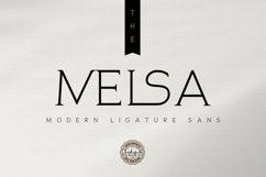 The Melsa - Modern Ligature Sans Product Image 1