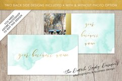 Business Card Template for Adobe Photoshop - Layered PSD Template - Design #1 Product Image 3