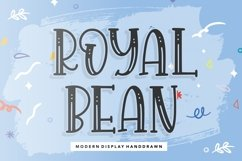 ROYALBEAN Modern Display Handdraw Font Product Image 1