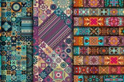 Tile mosaic seamless patterns collection Product Image 5