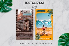 7 travel instagram story template Product Image 2