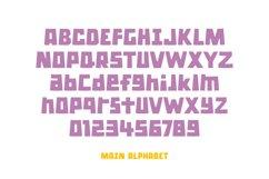 Hoola Hoopa Font PLUS BONUS Ligature Set Product Image 5