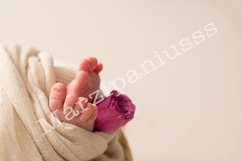 Foot of the newborn baby, tenderness. copy space Product Image 1