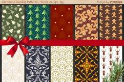 50 Christmas Seamless Patterns Product Image 4