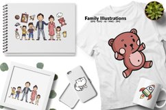 Family Illustrations Product Image 3