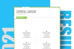 New Resume Template 2021 Product Image 5