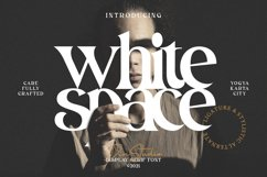 White Space Product Image 1