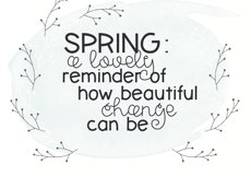 Spring Sunshine - A Serif & Script Font Duo Product Image 4