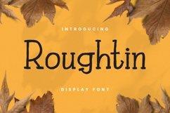 Rougthin Font Product Image 1