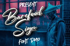 Barefood Sign | Font Combination Product Image 1