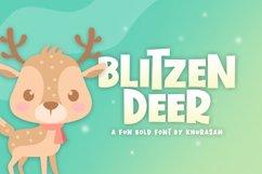 Blitzen Deer Product Image 1