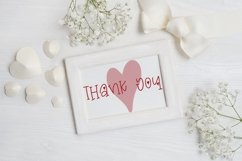 Web Font Valentine's Day Font - Miss Valentina Product Image 6