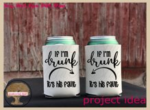 If Im drunk friends groom crew cricut waterslide 300 dpi png Product Image 3