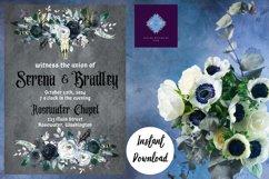 Gothic Dark Wedding Invitation Product Image 5