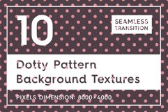 10 Dotty Pattern Background Texture Product Image 1