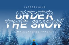 Under The Snow Product Image 1