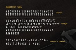 Mandatory Vintage Font Duo ! Product Image 5