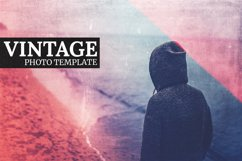 Vintage - Photo Template Product Image 1
