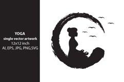 YOGA - single vector artwork Product Image 1