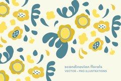 scandinavian flowers set Product Image 1