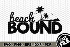 Beach Bound - SVG Cut File n214 Product Image 1