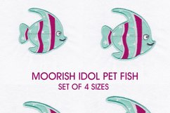 Pet Fish Applique Embroidery Size Pack Product Image 5