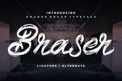 Braser   Grunge Brush Typeface Product Image 1